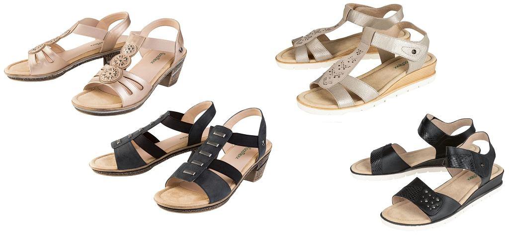 Sandały z Lidla