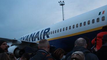 Lotnisko, Modlin, transport, linie lotnicze, Ryanair