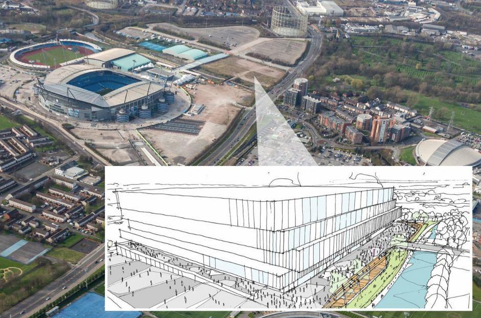 Projekt nowej areny bokserskiej w Manchesterze. Źródło: Twitter/ Citizens Indonesia