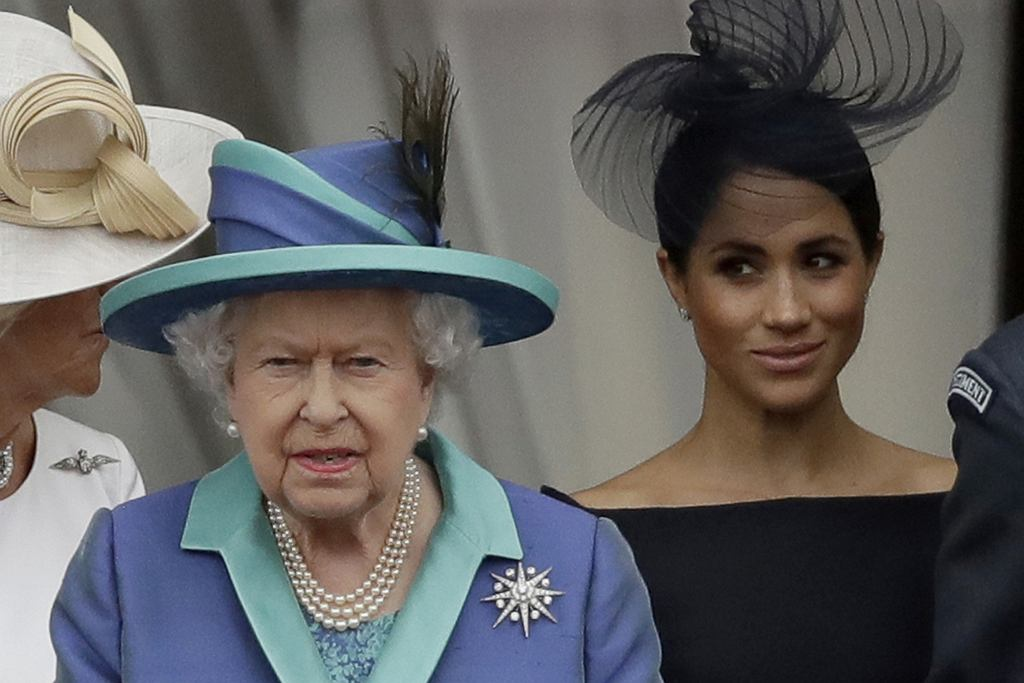 Królowa Elżbieta II, Meghan Markle