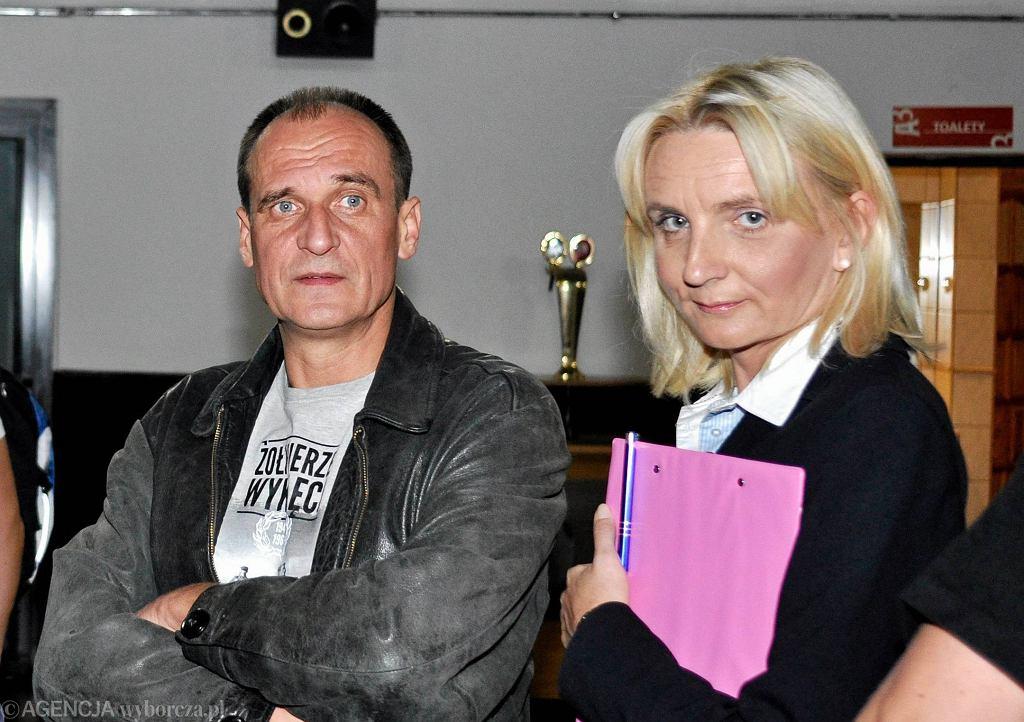 Paweł Kukiz i Agnieszka Ścigaj (zdj. z 2015 roku)
