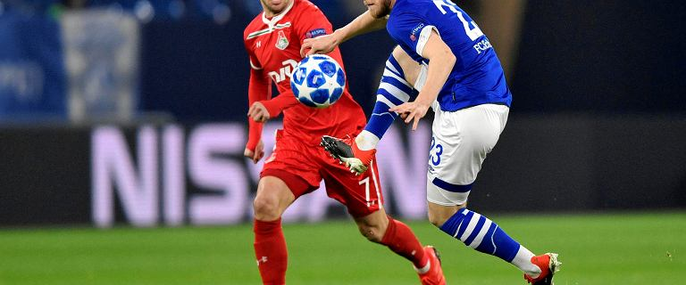 Liga Mistrzów. Lokomotiw Moskwa przegrał z Schalke i pożegnał się z pucharami. Rybus i Krychowiak nie pomogli przełamać klątwy Siomina