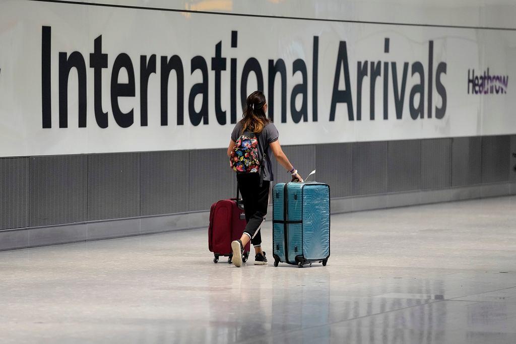 Wielka Brytania. Lotnisko Heathrow.