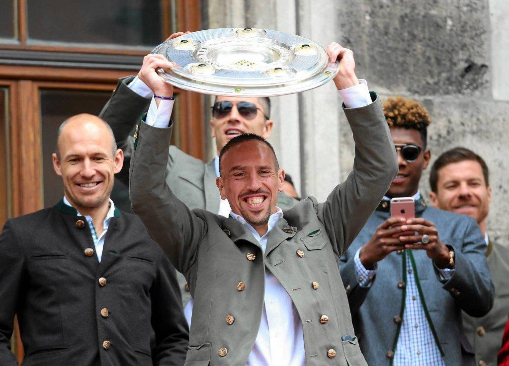 Eleganccy: Arjen Robben i Franck Ribery