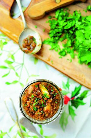 Brązowy ryż z miso