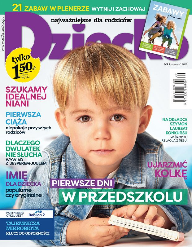 """Nowy numer miesięcznika """"Dziecko"""" w kioskach od 8 sierpnia"""