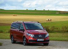 Opinie Moto.pl: Mercedes EQV. Pierwszy, luksusowy van ładowany wyłącznie z gniazdka