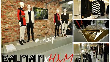 Balmain dla H&M - prezentacja kolekcji