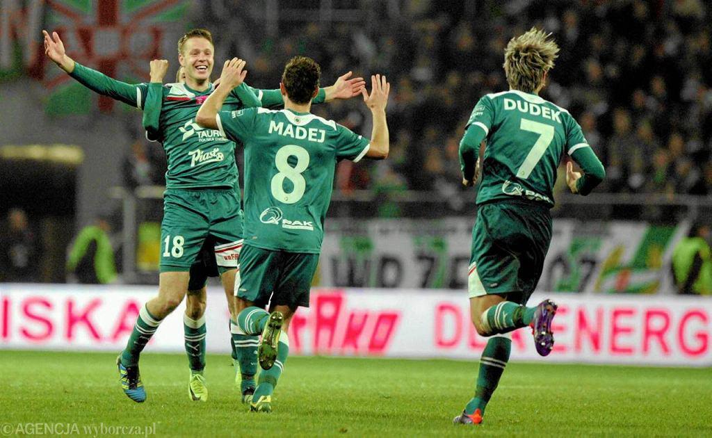 Johan Voskamp ostatnią bramkę w barwach Śląska zdobył w listopadzie 2011 w meczu z Zagłębiem Lubin