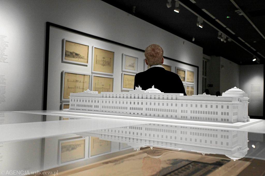'Marzenie i rzeczywistość. Gmach Muzeum Narodowego w Warszawie' / DAWID ZUCHOWICZ