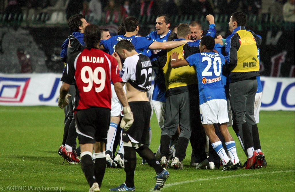 Polonia Warszawa - Lech Poznań, półfinał Pucharu Polski 2009, reakcje po rzutach karnych