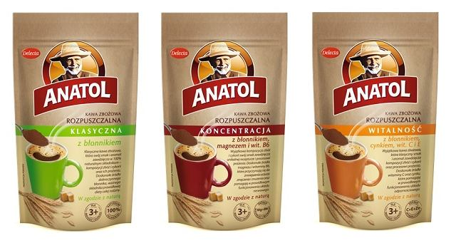 Anatol z błonnikiem i witaminami - funkcjonalna kawa zbożowa