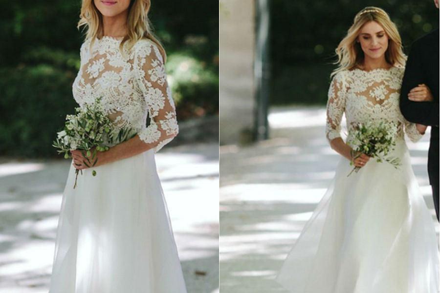 Suknia ślubna Kasi Tusk na aukcji WOŚP
