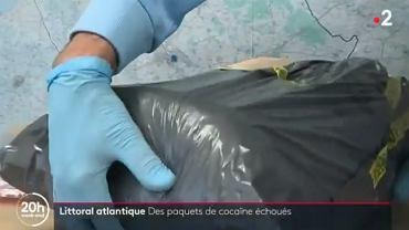 Ocean wyrzuca paczki z kokainą na francuskie plaże