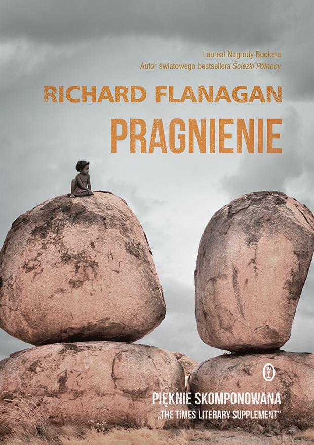 Pragnienie (Richard Flanagan) - okładka