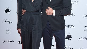 Robert El Gendy z żoną