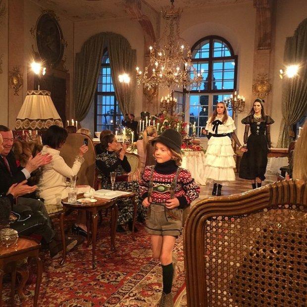 Finał pokazu Chanel Paris-Salzburg