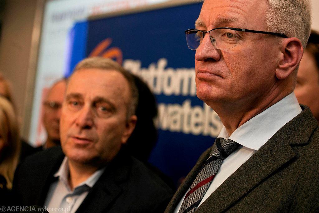Jacek Jaśkowiak spotkał się w sobotę z działaczami dolnośląskiej PO.