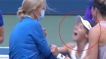 Fatalna kontuzja Stefani w półfinale debla US Open