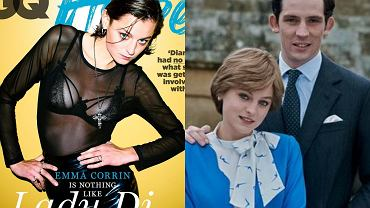 księżna Diana, książę Karol, Emma Corrin