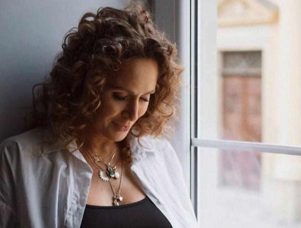 Monika Mrozowska w nowej sesji ciążowej