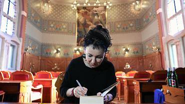 Olga Tokarczuk, laureatka Literackiej Nagrody Nobla. Nagrodę odbierze w czasie ceremonii w Sztokholmie 10 grudnia