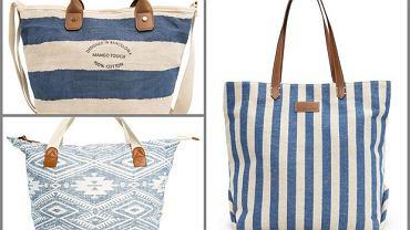 Plażowe torby na lato 2014
