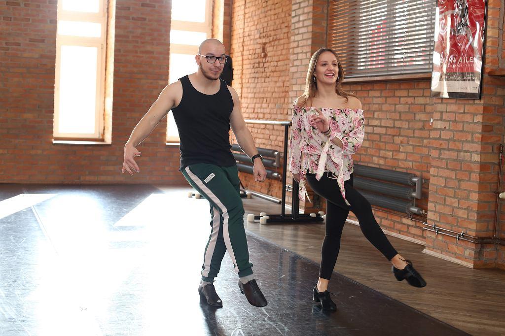 Gimper na treningu do 'Tańca z Gwiazdami'