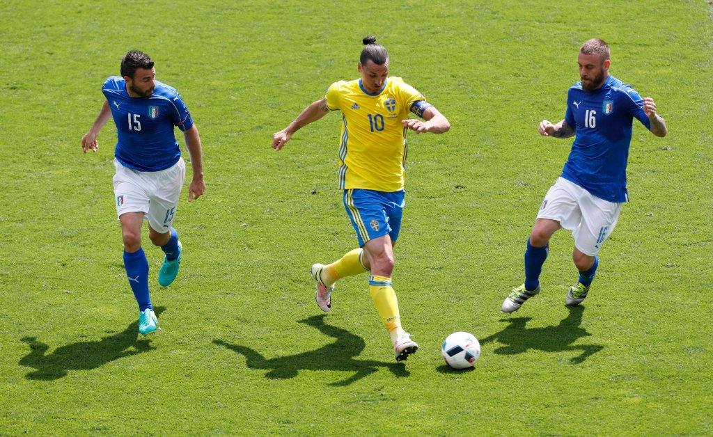 Włochy - Szwecja 1:0