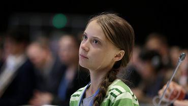 Greta Thunberg na szczycie COP25 w Madrycie