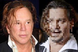 Gdy Johnny Depp pojawił się na premierze filmu, brytyjski dziennikarz stwierdził,  że aktor zmienia się w Mickeya Rourke. Czy tak jest faktycznie? Sprawdziliśmy.