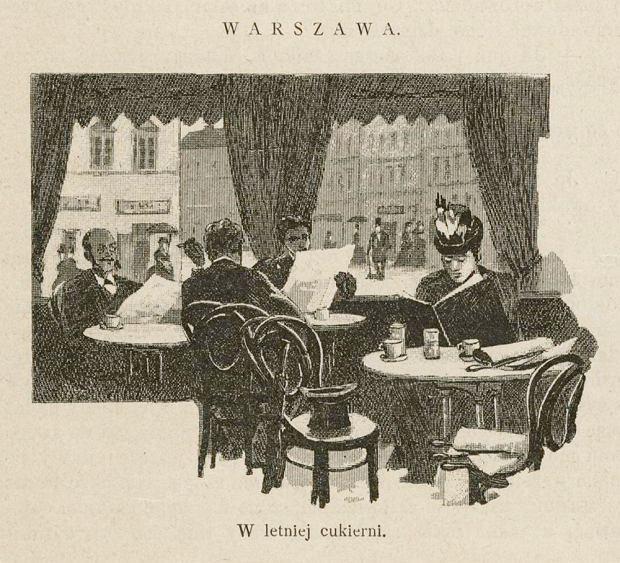 Pączki i faworki, czyli historia warszawskich cukierni