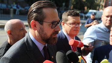 Sędzia Bartłomiej Przymusiński, rzecznik 'Iustitii'