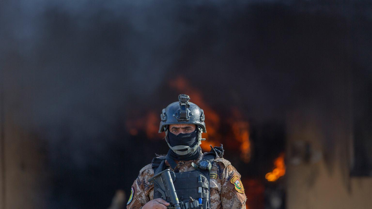 Oświadczenie MSZ Iraku po atakach na bazy wojskowe.