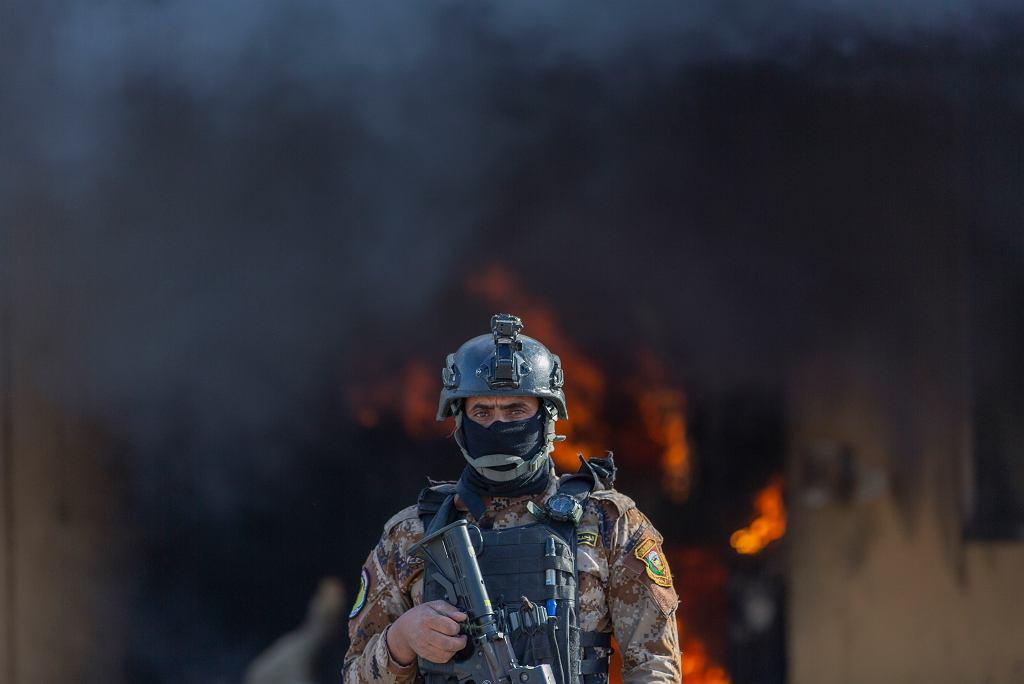 Irakijski żołnierz / zdjęcie ilustracyjne