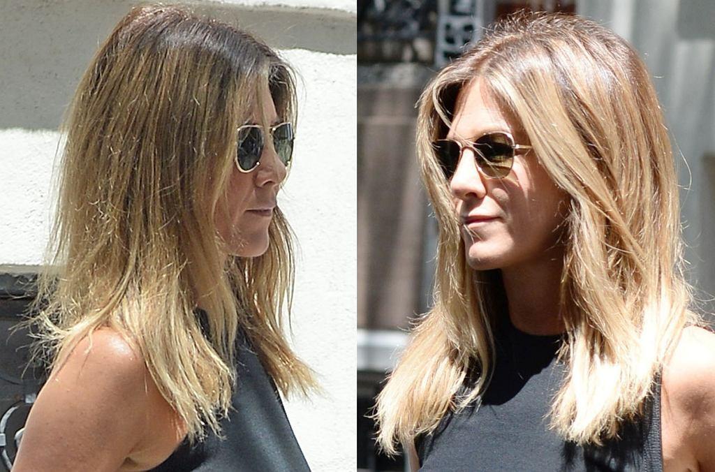 Jennifer Aniston pokazała nieco za dużo wychodząc z restauracji na Upper East Side w Nowym Jorku. A może to celowy zabieg?