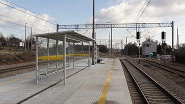 Nowy peron na stacji w Wąchocku