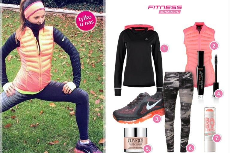 anna lewandowska strój na fitness