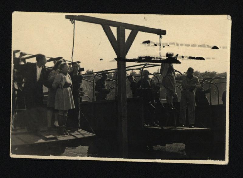 Egzekucja oprawców z KL Stutthoff w Gdańsku, 4 lipca 1946 roku