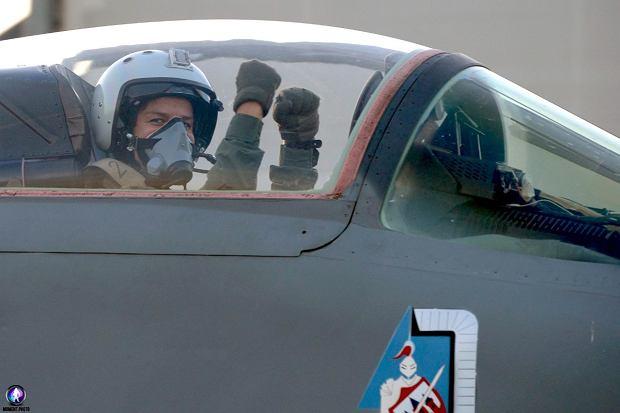 Katarzyna Tomiak-Siemieniewicz za sterami MiG-a 29 (Fot. Tomasz Gackowski/Moment Photo)