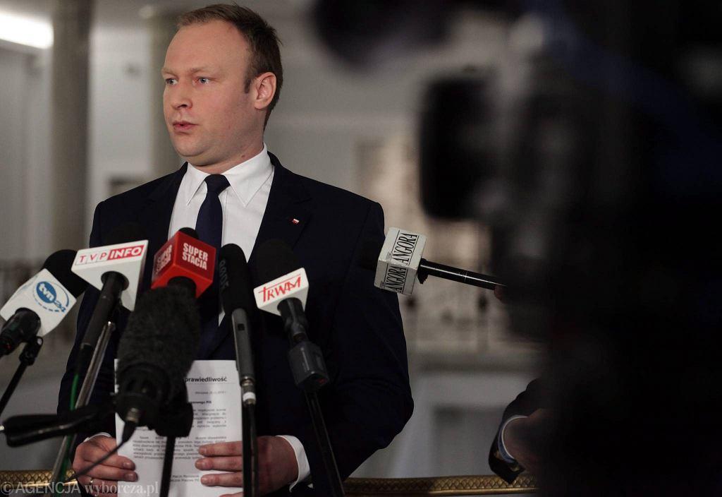 Marcin Mastalerek, rzecznik PiS