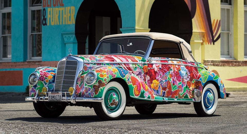 Mercedes 220 Cabriolet A