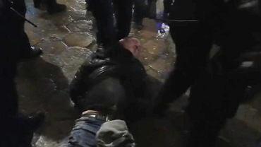Nagranie z interwencji policji we Wrocławiu