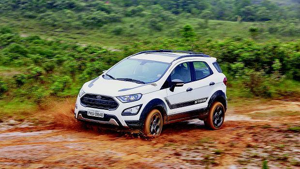 Ford EcoSport Storm udaje, że jest znacznie większym i bardziej bojowym Raptorem.