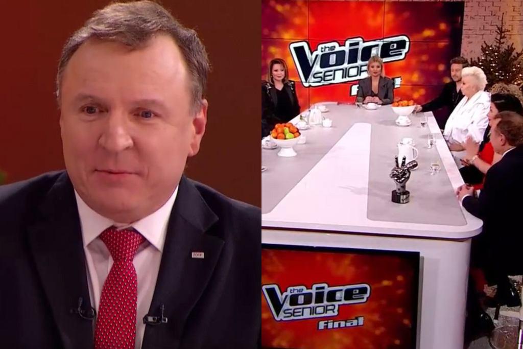 Jacek Kurski, 'The Voice Senior'