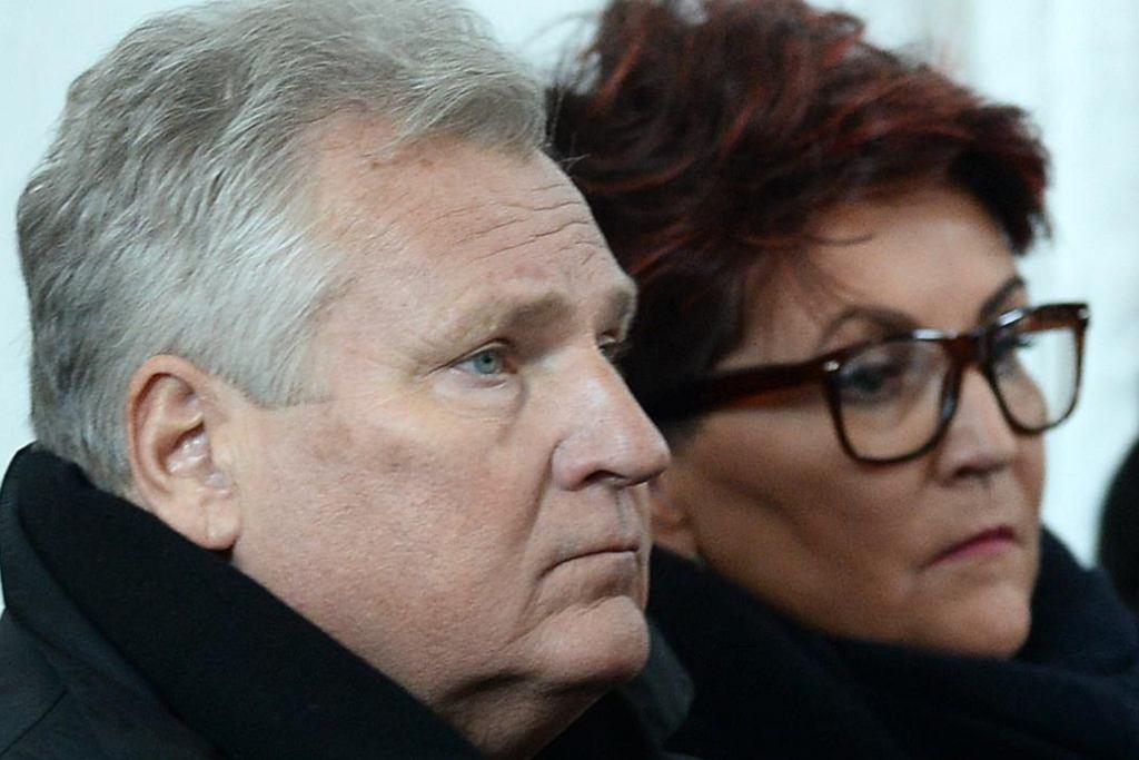 Aleksander Kwaśniewski, Jolanta Kwaśniewska