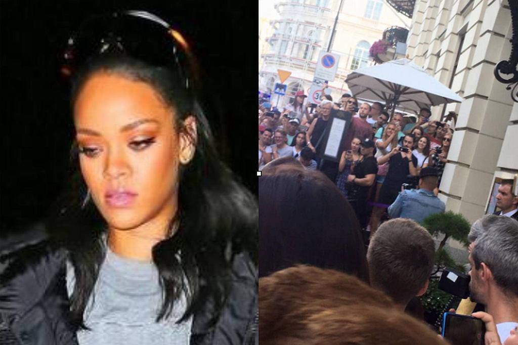 Rihanna w Warszawie