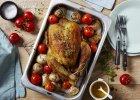 Pieczony kurczak z pomidorami - Zdjęcia