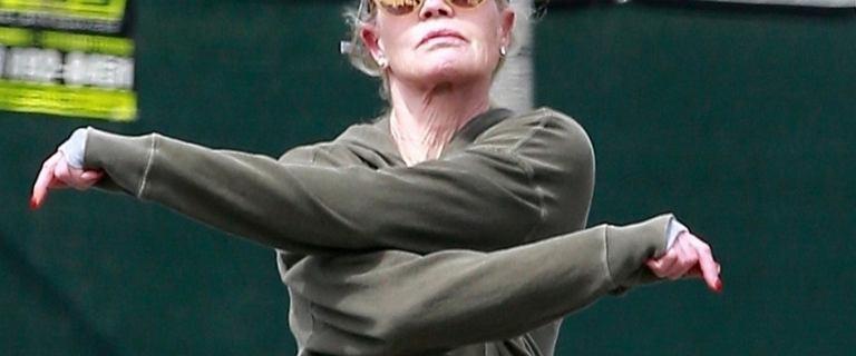 Melanie Griffith przyłapana na joggingu. Jest w świetnej formie