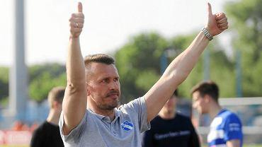 Trener Wisły Płock Leszek Ojrzyński